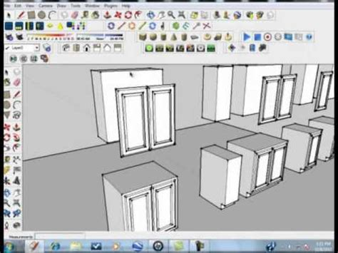 google sketchup easy tutorial sketchup tutorial kitchen designs made simple and easy