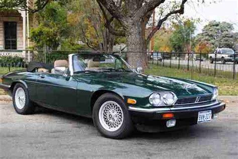 sell used 1989 jaguar xjs convertible v12 original