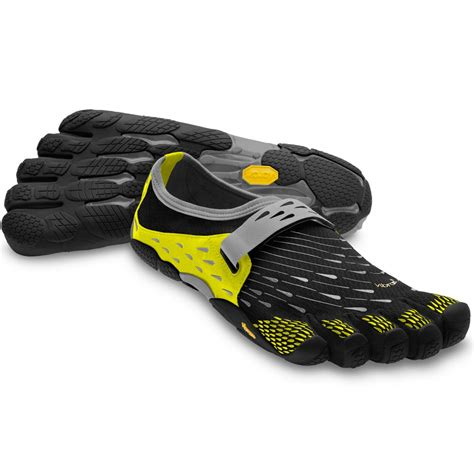 5 finger running shoes vibram fivefingers mens seeya black dayglow running