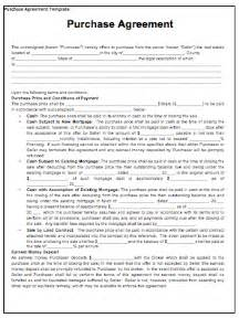 purchase contract template contract templates guidelines and templates for drafting