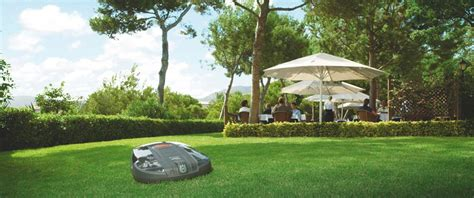 husqvarna s robot mower gets a takes on the big