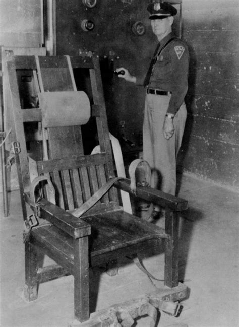 In Electric Chair by Mcalester Really Wants Its Electric Chair Back The