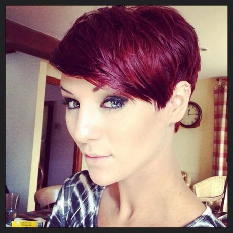 how to color a pixie cut pixie haircut with color