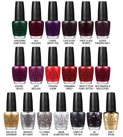 opi comparisons holiday 2014 gwen stefani collection gwen stefani opi nail polish collection everydaytalks com