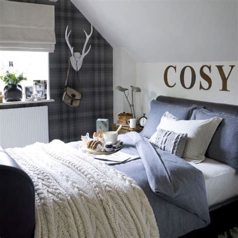 loft bedroom guest bedroom ideas housetohome co uk tartan bedroom ideal home jpg 550 215 550 house to our