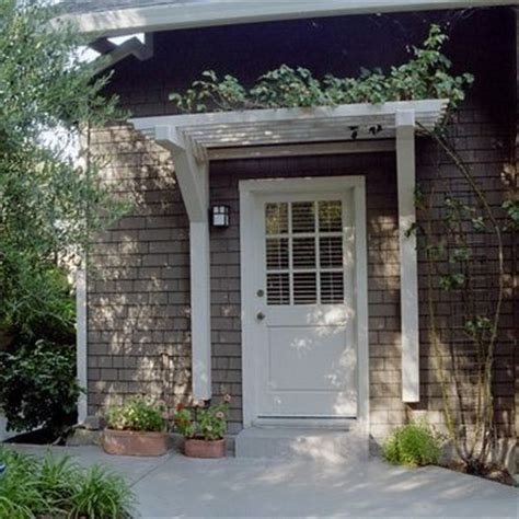 back door awnings 17 best ideas about front door awning on pinterest metal