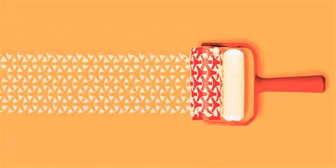 honeycomb pattern roller patterned paint rollers on behance