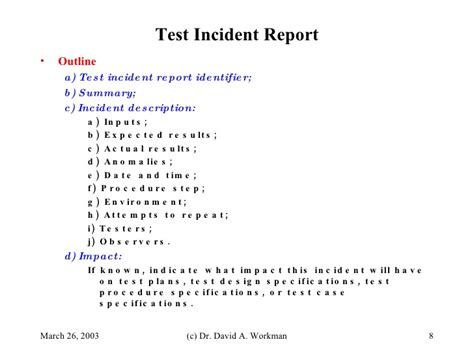 ieee 829 test strategy template ieee standard 829 software testing