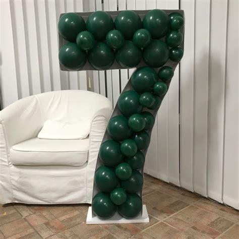 number  mosaic balloon frame cm  cm balancebest