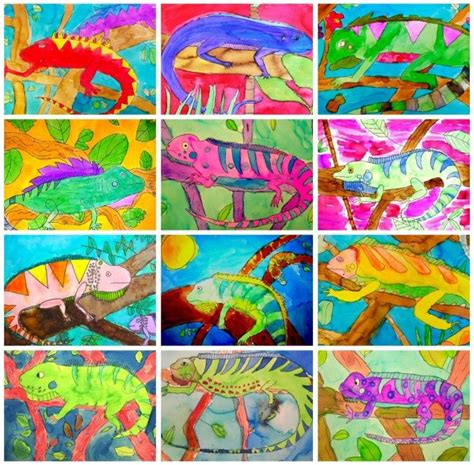 Kaos K Pop Beast Creative 1 25 best ideas about chameleon craft on jungle