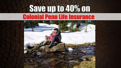 colonial penn life insurance youtube