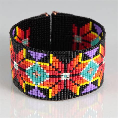 indian bead loom american style boho bead loom bracelet artisanal