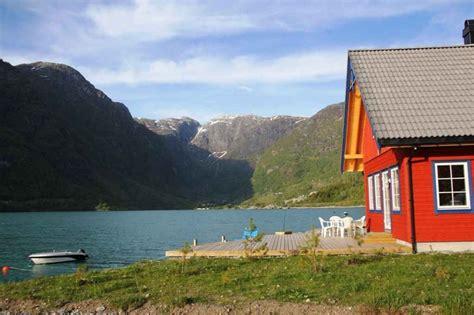 motorboot norwegen attraktives ferienhaus fjordnorwegen motorboot norway
