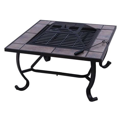 Backyard Grill Heat Tent 32 Inch Square Outdoor Metal Heat Pit Bbq Stove