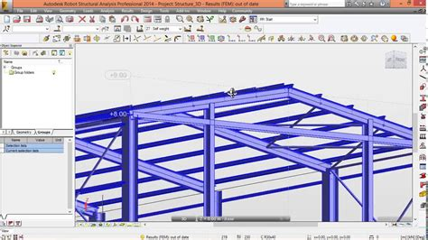 video tutorial robot structural analysis 0 introduction robot structural analysis tutorial youtube