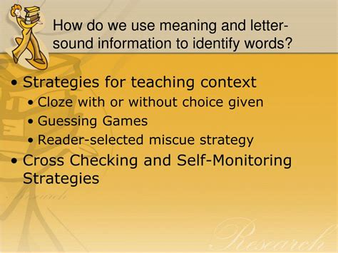 Research Based Letter Identification Strategies ppt by cardenas powerpoint presentation id 402424