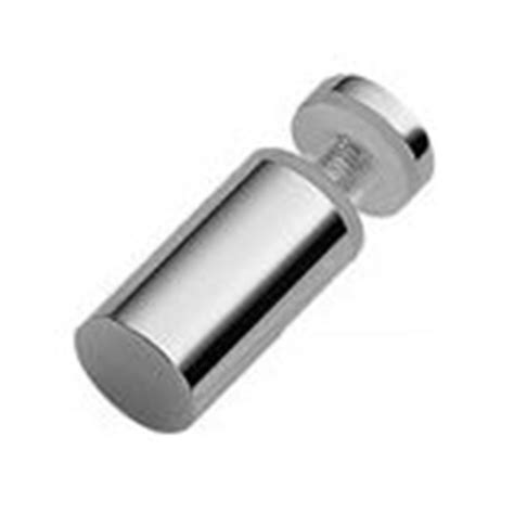 One Sided Door Knob by Mont Single Side Shower Door Knob In Polished Chrome