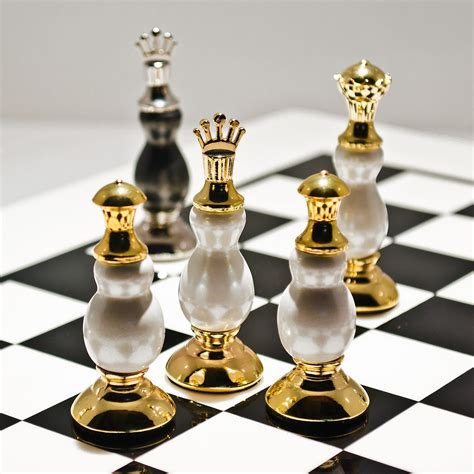luxury chess set luxury black and gold chess set be fabulous