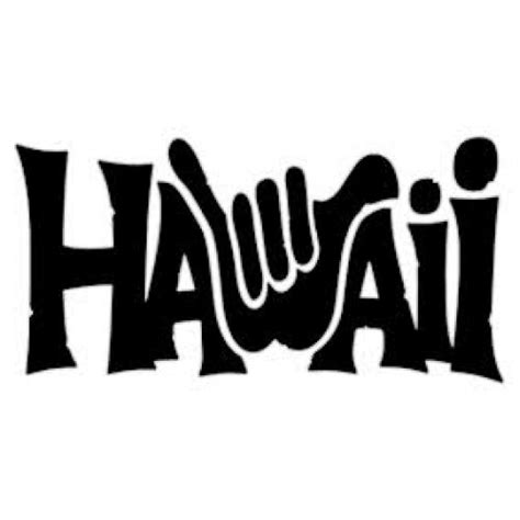 Wall Stickers Family Quotes hawaii shaka decal