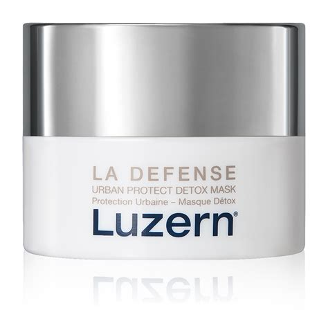 Detox Skin Care by Luzern Laboratories La Defense Protect Detox Masque