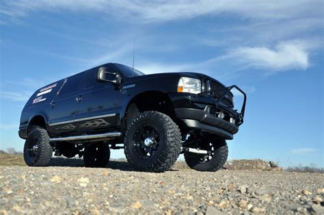 Ford Excursion Lift Kit by 4in Suspension Lift Kit For 00 05 Ford 4wd Excursion 481