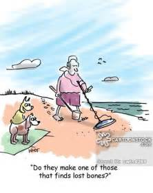 Metal detecting cartoons and comics funny pictures from cartoonstock