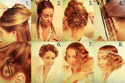 great gatsby hair ideas for halloween and beyond how to great gatsby hair long the great gatsby makeup unveiled