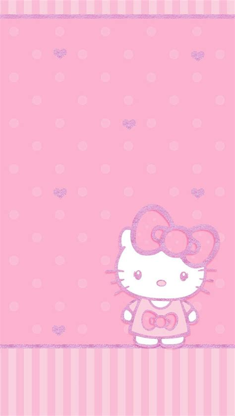 wallpaper ruangan hello kitty hello kitty wallpaper pink www pixshark com images
