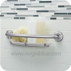 designer grab bars for bathrooms designer grab bar with integrated shelf moen lr2356dch
