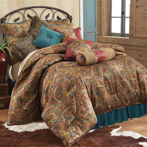 western red triple star comforter set san angelo teal western bedding comforter collection cabin place