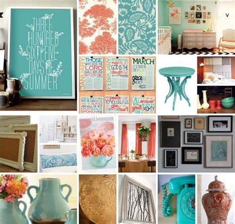 inspiration board turquoise coral diy weddings events fashion more
