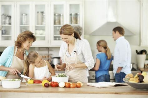 white house family kitchen new insight into how people use their homes shows where to