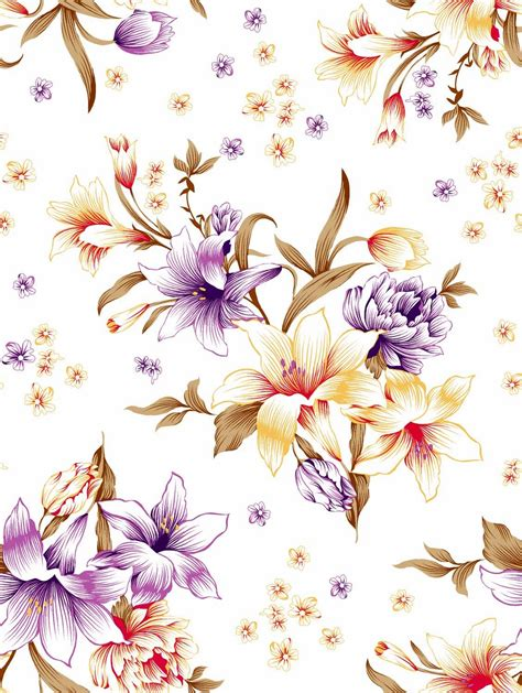 design textile bunga kursus design textile contoh motif bunga dan batik