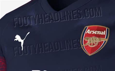 arsenal new kit arsenal 2018 19 away kit leaked online