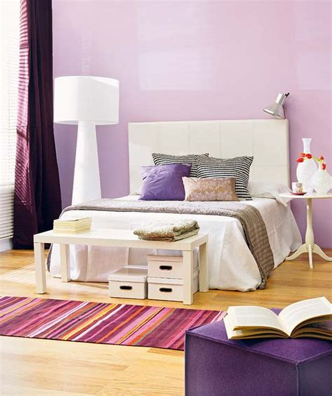 bedroom decor  purple  decorative