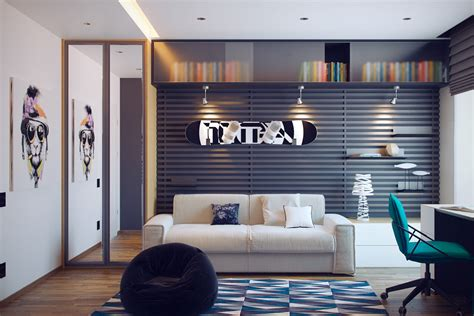 Home Interior Arch Designs 24 teen boys room designs decorating ideas design trends