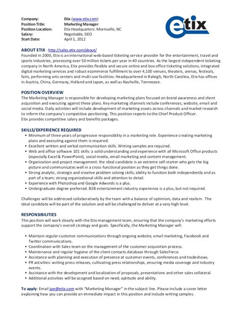 Regional Sales Director Description by Regional Sales Manager Description Template In Word Format Sales And Marketing