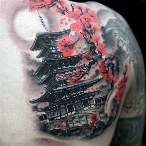 50 best zen tattoo designs 50 japanese temple designs for buddhist ink