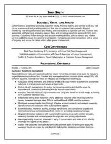 Customer Service Analyst Sle Resume by 17 Best Images About Best Business Analyst Resume Templates Throughout Business Analyst Resume