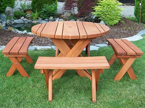redwood picnic table gold hill redwood products picnic tables outdoor furniture