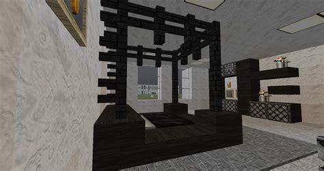 schlafzimmer minecraft einrichten in minecraft schlafzimmer mit himmelbett