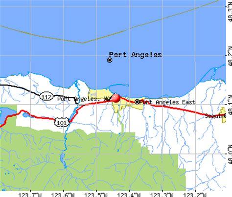 port angeles map port angeles washington wa 98362 98363 profile