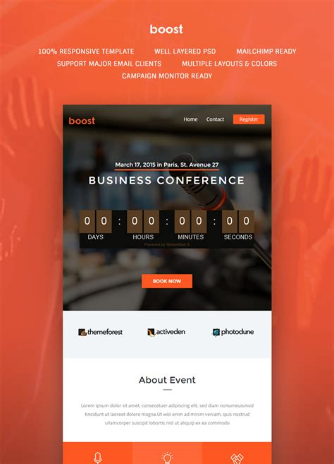boost event email template buy premium boost event email