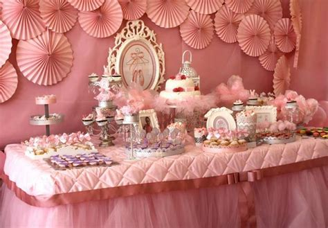 Decorating Ideas With Crepe Paper Streamers Kara S Party Ideas Pink Ballerina Birthday Party Planning