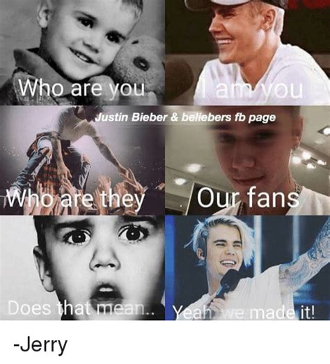 Belieber Meme - who are you justin bieber beliebers fb page who are they