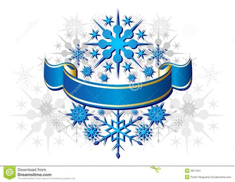 blue christmas ribbon stock image image 3617341