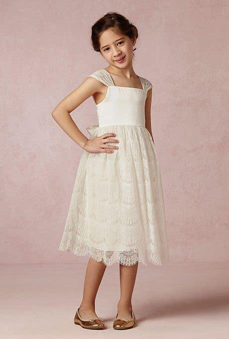 Flower Girl Dresses That Emulate the Bride's
