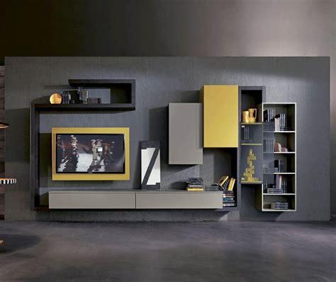 Wall Unit Tv Minimalis 8214 25 model desain rak tv minimalis