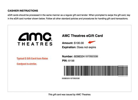 Where To Use Amc Gift Card - amc gift card use