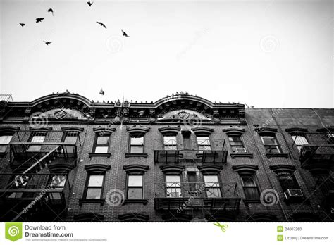 New York City Apartment Laws Nyc Tenement Apartments Stock Photo Image 24007260